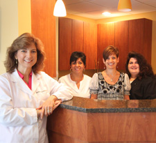 Dr. Fascilla and staff